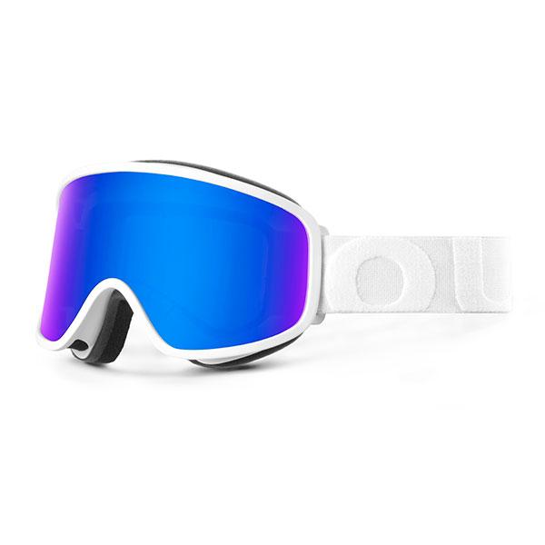 Маска для сноуборда OUT OF Flat White(blue Mci)