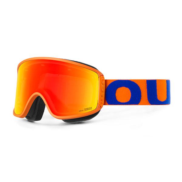 Маска для сноуборда OUT OF Shift Маска + Доп Линза Blue Orange(red Mci)