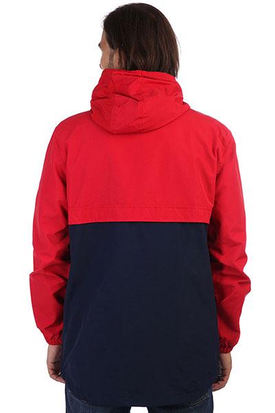 Анорак Skills Colorblock Red/Navy