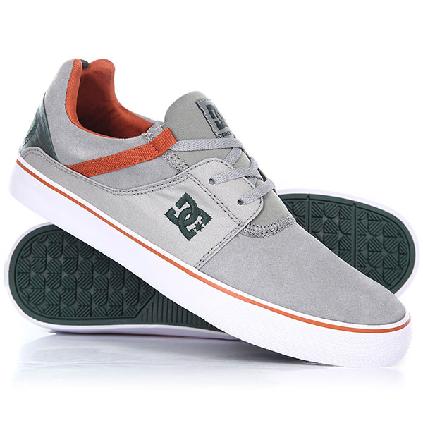Кеды низкие DC Heathrow Vulc Grey/Green