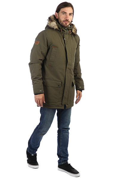 Парка QUIKSILVER Ferris Jk Grape Leaf