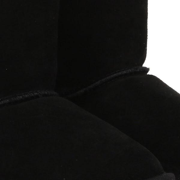 Сапоги из овчины детские EMU Australia Wallaby Lo Черные