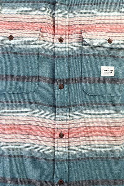 Рубашка QUIKSILVER Kanagawa Tapestry Heavy Flann