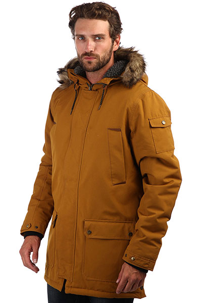 Куртка парка QUIKSILVER Ferris Golden Brown