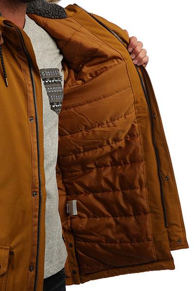 Куртка парка QUIKSILVER Ferris Golden Brown