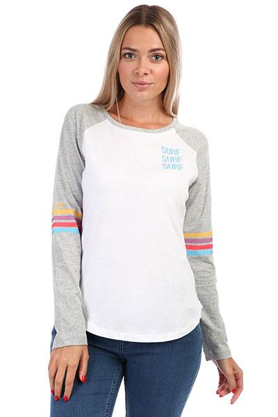Лонгслив женский Rip Curl Surf Racer Long Sleeve White