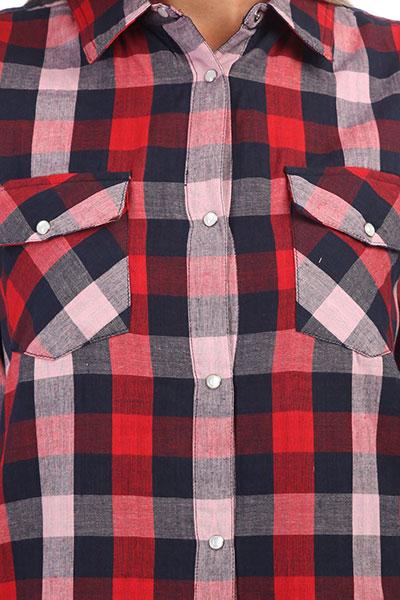 Рубашка в клетку женская Rip Curl Check In Shirt Multico