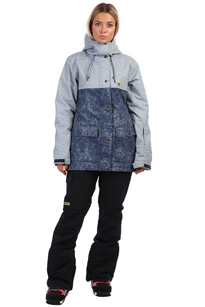 Куртка женская DC Cruiser Jkt Dark Blue Acid Wash
