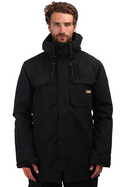 Куртка сноубордическая DC Haven Black Dcu Reflective