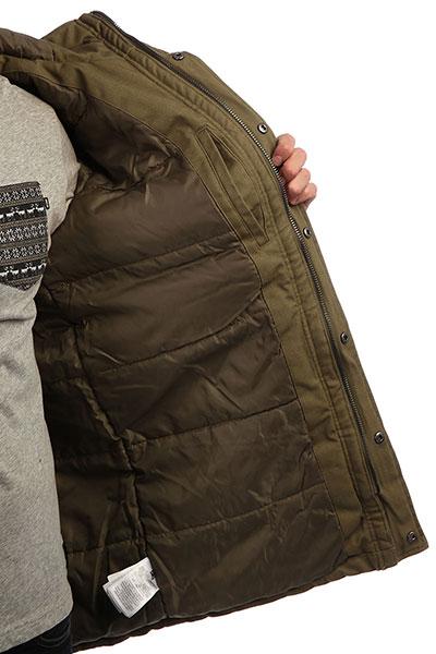 Куртка парка DC Canongate 2 Burnt Olive