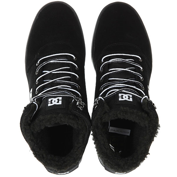 Кеды зимние DC Shoes Crisis High Wnt Black/White/Black