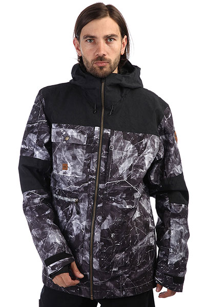 Куртка утепленная QUIKSILVER Arrow Wood Black Tannenbaum