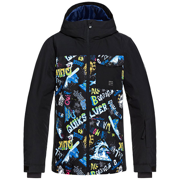 Куртка утепленная детская Quiksilver Miss Blk Yth Jk B Snjt Black a Night At The