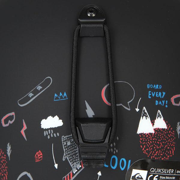 Шлем для сноуборда детский QUIKSILVER Empire Black maoam Tatt
