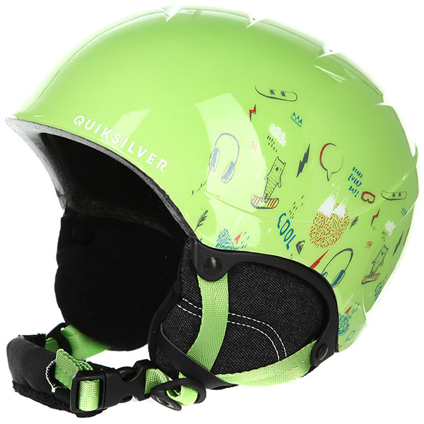 Шлем для сноуборда детский QUIKSILVER The Game Lime Green moam Tatt