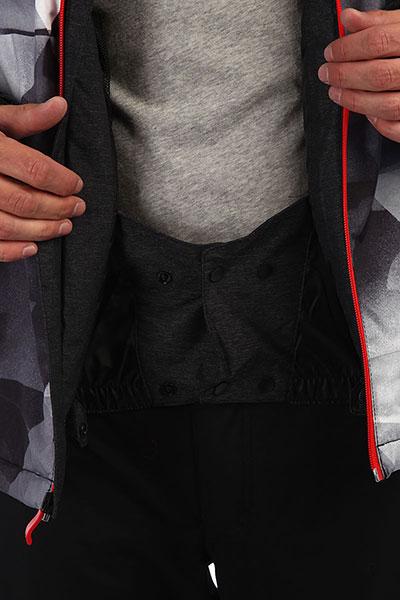 Куртка QUIKSILVER Mission Plus Grey Stretch Univers