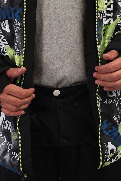 Куртка QUIKSILVER Mission Black Construct