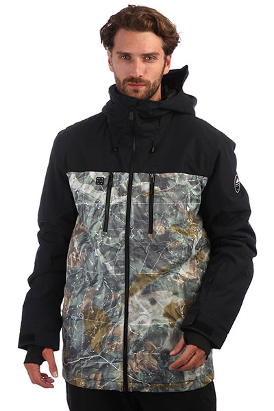 Куртка QUIKSILVER Mission Grape Leaf Tanenbaum