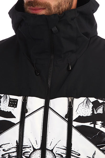 Куртка QUIKSILVER Mission White Snow Mistery