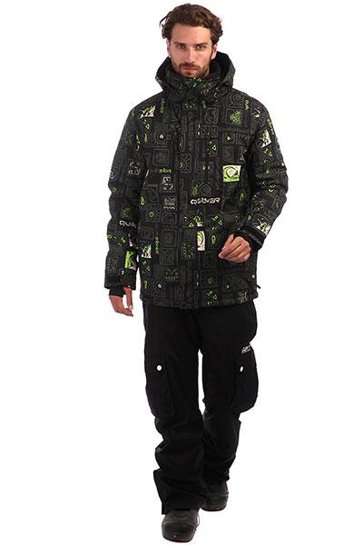 Куртка QUIKSILVER Mission Grape Leaf Kawena