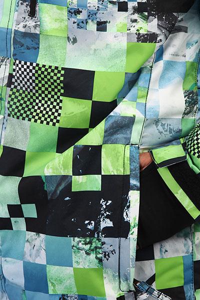 Куртка QUIKSILVER Mission Lime Green Money