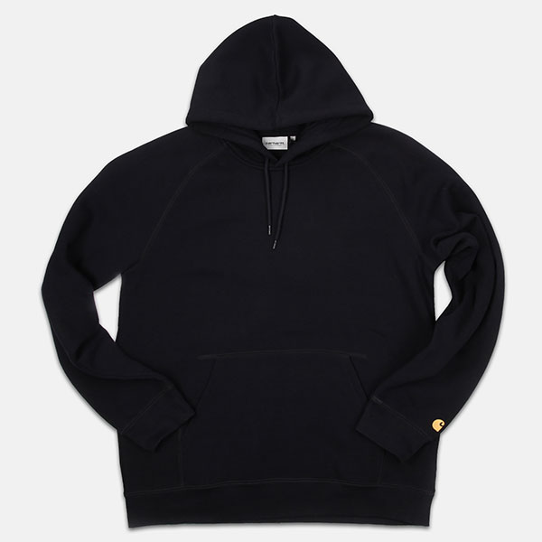 Толстовка Carhartt WIP Hooded Chase Sweatshirt Dark Navy Gold