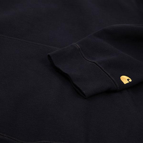 Толстовка Carhartt WIP Hooded Chase Sweatshirt Dark Navy Gold