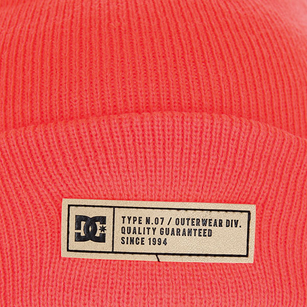 Шапка DC Label 2 Fiery Coral