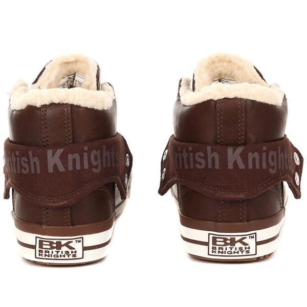 Кеды женские British Knights Roco B42-3706-03 Коричневыe