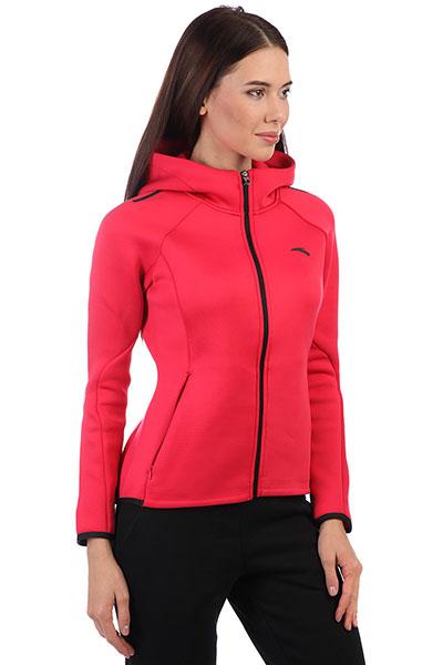 Толстовка классическая женская ANTA 86747705 Розовая