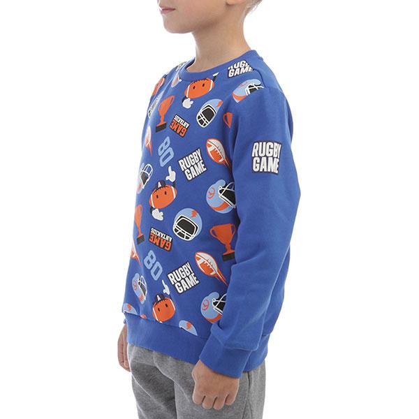Толстовка классическая детская ANTA W35749722 Синяя