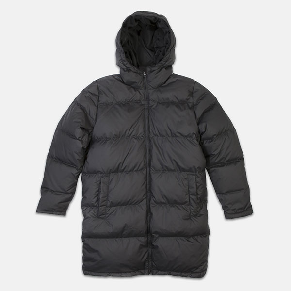 Куртка женская Reebok Down Long Jacket Black