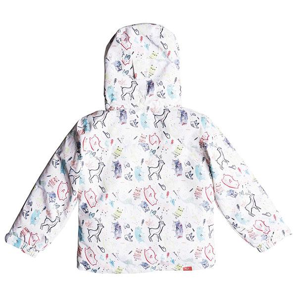 Куртка детская Roxy Mini Jetty Jk Bright White animals