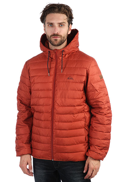 Куртка QUIKSILVER Scaly Barn Red