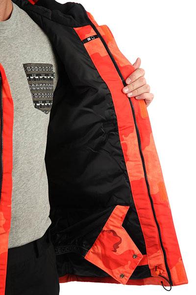Куртка DC Ripley Red Orange Dcu Camo
