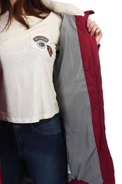 Куртка парка женская Roxy Ellie Beet Red