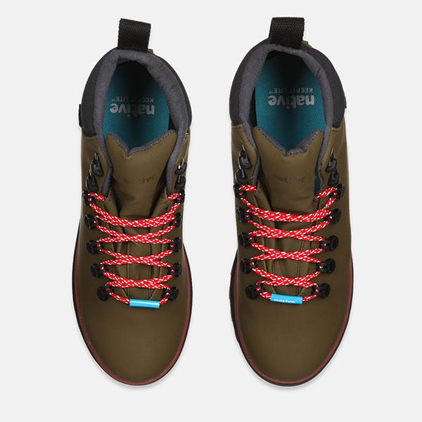Ботинки высокие Native Fitzsimmons Treklite Utilgr/Spcrd/Onyx Black