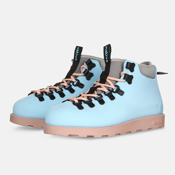 Ботинки высокие Native Fitzsimmons Sky Blue/Chameleon Pink