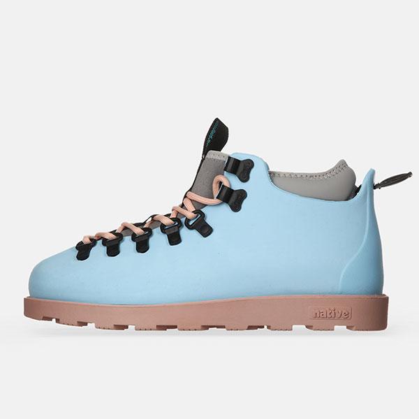 Ботинки высокие Native Fitzsimmons Sky Blue/Chameleon Pink