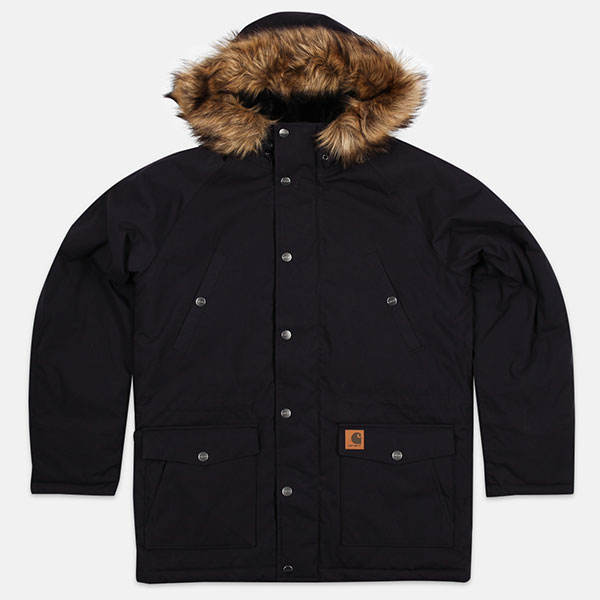 Куртка Carhartt WIP Trapper Dark Navy/Black