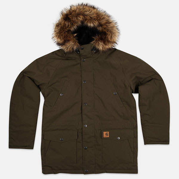 Куртка Carhartt WIP Trapper Cypress/Black