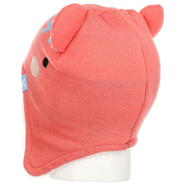 Шапка ушанка детская Roxy Bear Teenie Bea Shell Pink
