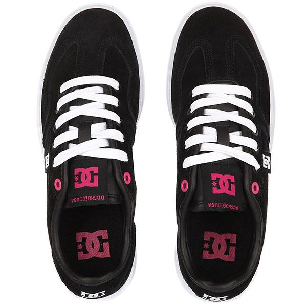 Кеды низкие женские DC Vestrey Se Black/White/Pink