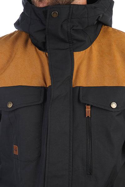 Куртка QUIKSILVER Raft Black