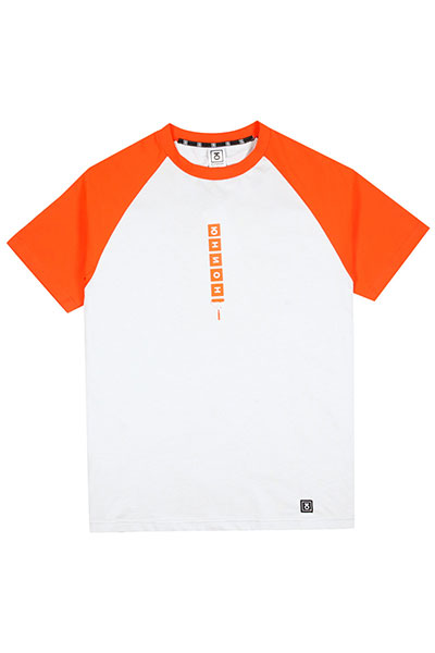 Футболка Юнион Paint Roller Orange/Grey