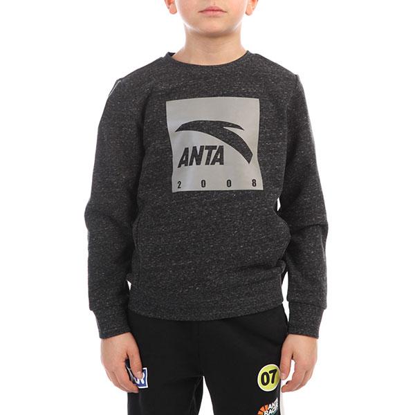 Толстовка классическая детская ANTA W3587707 Серая