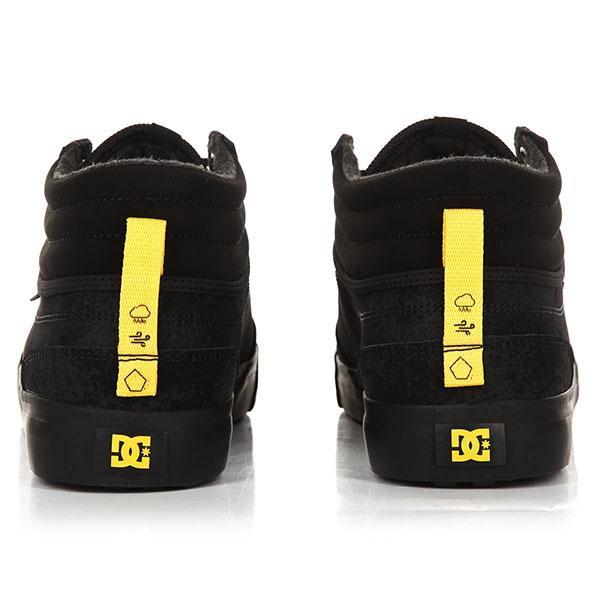 Кеды высокие DC Evan Smith Hi Wnt Black/Yellow