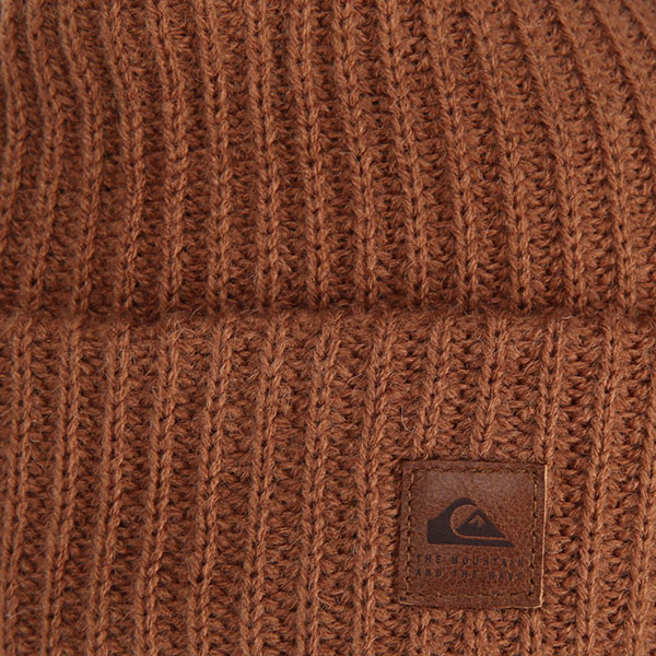 Шапка QUIKSILVER Routine Beanie Golden Brown