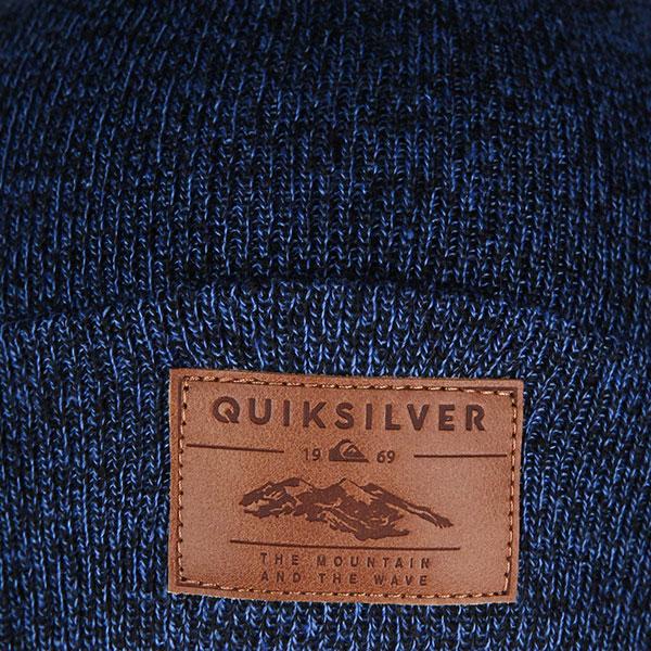Шапка QUIKSILVER Brigade Beanie Dress Blues