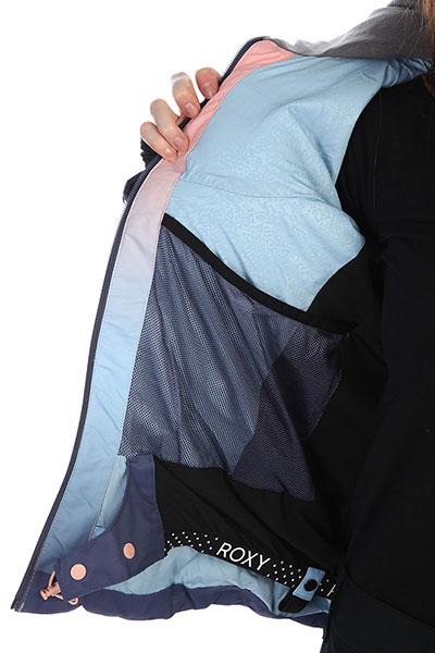 Куртка женская Roxy Snowstorm Powder Blue_gradient